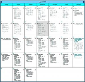 Example Nova Calendar
